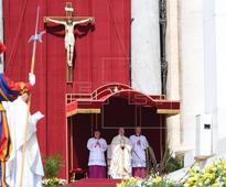 PAPA CANONIZACIONES - El papa afirma que