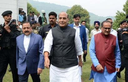 Will force Pak to stop cross-border firing: Rajnath