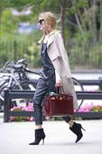 Olivia Palermo Has a Styling Hack to Make Your Overalls Look Polished
