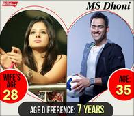 Dhoni's Wife Is 7 Years Younger To Him While Shoaib Akhtar's Wife Is 18 Years Younger; Cricketers Who Chose To Marry These Women Despite Huge Age Gap