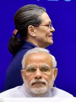 Sonia lashes out at PM, says he governs by deception