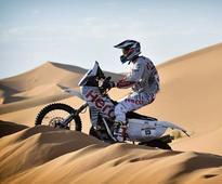 Hero MotoSports Take Part In The Afriquia Merzouga Rally With CS Santosh