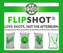 The FlipShot Shot Glass Eliminates the Burn With Inspired Innovation