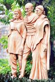 Profit, pool displace Gandhiji's memories