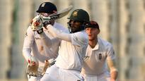 Bangladesh v/s England: Imrul Kayes hits unbeaten fifty as Bangladesh lead by 128