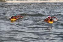 Free swimming workshops, courtesy marine commandos