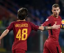 Serie A: Chelsea-target Edin Dzeko rescues a point for AS Roma with late strike against Sampdoria; Lazio power past Udinese
