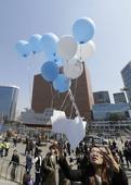 South Korea floats 100,000 anti-Kim leaflets to the North