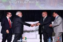 India working to achieve 8% growth: Narendra Modi in Johannesburg