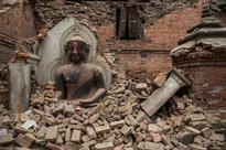 600-Year-Old Sunken Buddha Statue Emerges in China