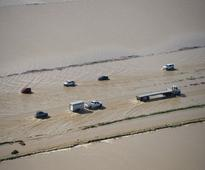 14,000 evacuated in California city due to flooding