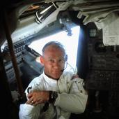 Buzz Aldrin Blasts Off With The Air Force Thunderbirds, Sets Record