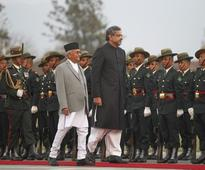 Pak PM Abbasi meets Oli on 2-day Nepal visit to revive stalled SAARC meet