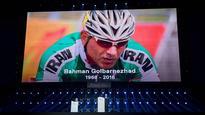Paralympics closing ceremony pays tribute to Golbarnezhad