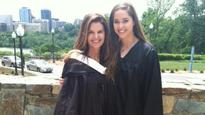 Maria Shriver shares picture from daughter's graduation