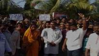 Odisha: Sana Sena activists continue to protest