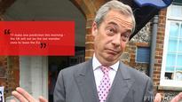 'You're not laughing at me now,' Nigel Farage mocks EU members post
