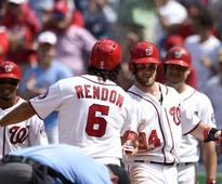 Bryce Harper returns to the lineup, and Nationals wallop Braves, 9-1