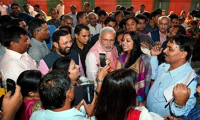 Modi to host Diwali Milan for journos on Nov 3