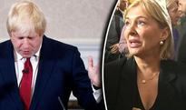 The moment Nadine Dorries bursts into tears as Boris Johnson bowed out