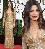 Priyanka Chopra at Golden Globes 2017 or Deepika Padukone at xXx premiere: Who is your favourite sultry Golden Girl?