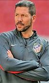 Atletico coach suspended for 3 games