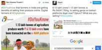 Cabinet Minister Ravi Shankar Prasad Goofs Up With Agricultural Produce Figures, Twitter Pounces On Him