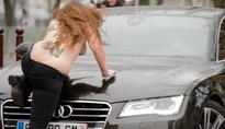 Femen earn victory in right to protest topless