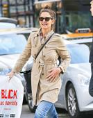 Katie Holmes flashes ring on that finger as she continues to prompt engagement speculation