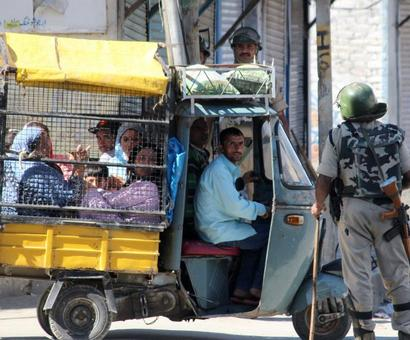 Some semblance of normalcy in Srinagar today
