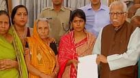 Dayashankar Singh's wife meets UP Governor Ram Naik