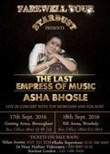 Asha Ji's Farewell Tour in the UK