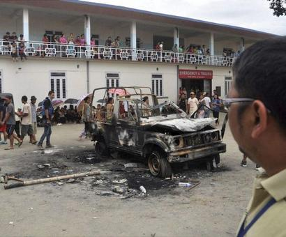 Manipur tense after 3 killed in police firing, toll mounts to 8