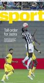 Saturday cover: Tall order for Al Jazira as Kenwyne Jones and Angel Lafita make debuts