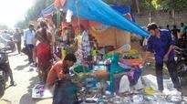 Business as usual at Pallavaram market