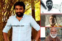 Sasikumar with Three writer stars