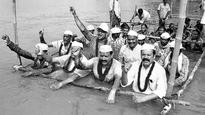 Suktel project oustees launch Jal Satyagraha