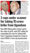 CBI to probe case in which Ugandan nationals allegedly bribed cops