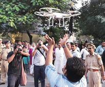 Drones face net of rules