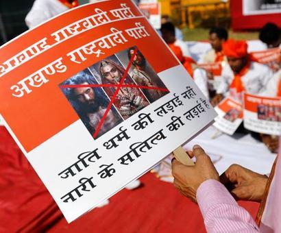 Padmaavat row: Rajput women seek PM nod for euthanasia