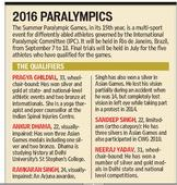 S Delhi Sporting heroes eye big wins in Rio Paralympics