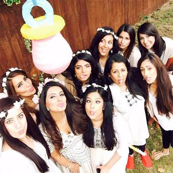 PIX: Geeta Basra's beautiful baby shower!