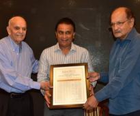 Legendary batsman Gavaskar completes another 50