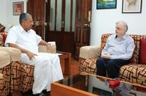 Cyclone Ockhi: CM meets Governor