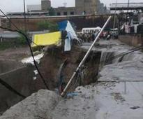 Heavy rain, waterlogging brings Noida to a halt
