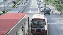 FOB plan on Nagar Road BRTS opposed
