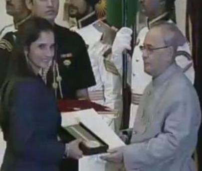 Sania Mirza conferred with Khel Ratna award