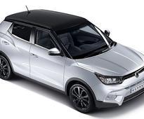 Mahindra SsangYong Tivoli Compact SUV unveiled at Delhi Auto Expo 2016