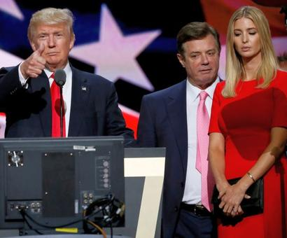 Ex-Trump campaign manager charged with conspiracy against US