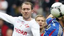 McGeady given six-game Spartak ban